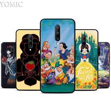 Snow White Silicone Case for Oneplus 7 7Pro 5T 6 6T Black Soft Case for Oneplus 7 7 Pro TPU Phone Cover