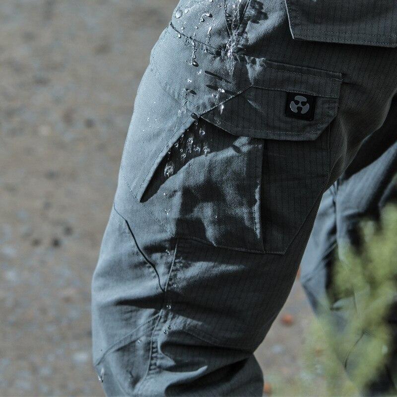 М3 Militar Передач Водонепроницаемый Telfon Rip-stop Тактические Брюки Мужчины SWAT Боевая Грузовой Армии Брюки Новые Ткани Хлопок Военных брюки