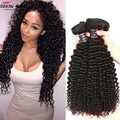 Barato Crespo Cabelo Virgem Malaio 3 Pacotes de 100% Cabelo Humano Weave Não Transformados Malásia Virgem Cabelo Kinky Curly Hair Extensions