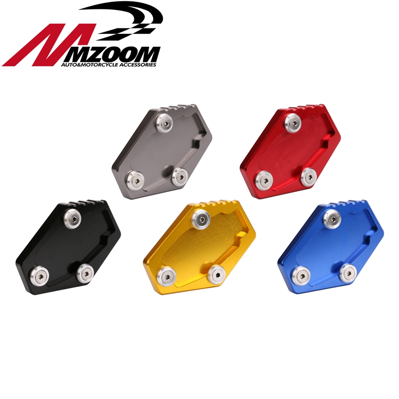 Motorcycle Accessories Side of the Base Enlarge Extension Plate Holder For Ducati Multistrada 1200 1200S MONSTER 795 796 821 the other side of silence