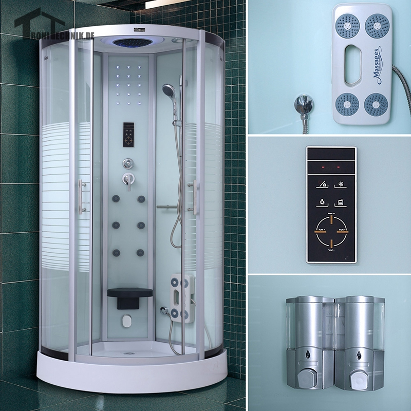 90cm Steam Shower Cubicle Massage shower cabin bath douche cabine Bathroom Quadrant Enclosure Bath Cabin Room Jetted White 137. Popular Bathroom Shower Doors Glass Buy Cheap Bathroom Shower