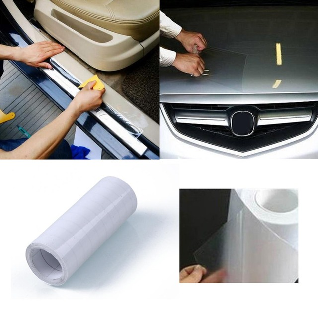3 Meters Car Bumper Hood Paint Protect Sticker Decal Protective Film Vinyl Clear Transparent Car Styling Car Accessories Auto