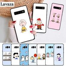 Lavaza PEANUTS Pattern Silicone Case for Samsung S6 Edge S7 S8 Plus S9 S10 S10e Note 8 9 10 M10 M20 M30 M40
