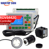 Laser Machine Ccd Control System RDV6442G Control Card Camera Embroidery Industry Useing