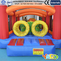 Frete Grátis QUINTAL pista de obstáculos infláveis para crianças funny kids brinquedos para crianças Com Ventilador