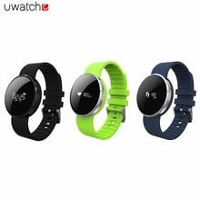 Uwatch UW1 0.66 дюймов OLED Экран IP67 Водонепроницаемый ЧПУ Bluetooth 4.0 Смарт-часы браслет сна монитор сердечного ритма браслеты