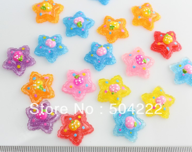 100% Quality 5pc 18*25mm Lovely Sweet Candy Assorted Glitter Hand Paint Resin Cabochon For Kawaii Decoden Diy Projects Jewelry Findings Jewelry Findings & Components