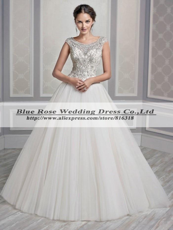 Vestido De Noiva Princesa Luxo Sexy Country Style Wedding Dresses ...