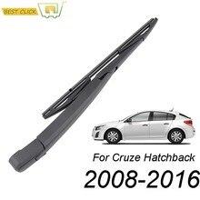 Misima cam sileceği bıçak kolu seti için Chevrolet Cruze 2008 - 2016 arka pencere sileceği takımı 2015 2014 2013 2012 2011 2010 2009