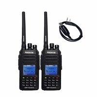IP67 Waterproof GPS DMR Digital Analog Retevis Walkie Talkie RT8 Drop Resistance 5W VHF 136 174Mhz