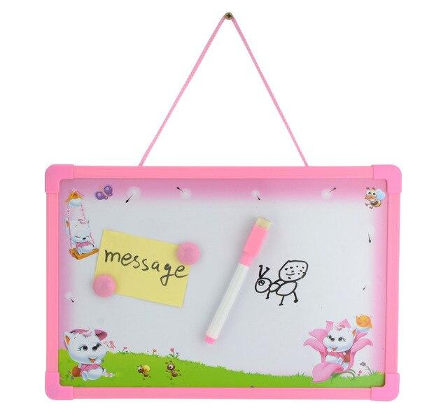 Placa da Mensagem Quadro removível Crianças Crianças Brinquedos Educativos Prancheta  Magnética Placa Paiting (1Pen + 48d013ffc66ee