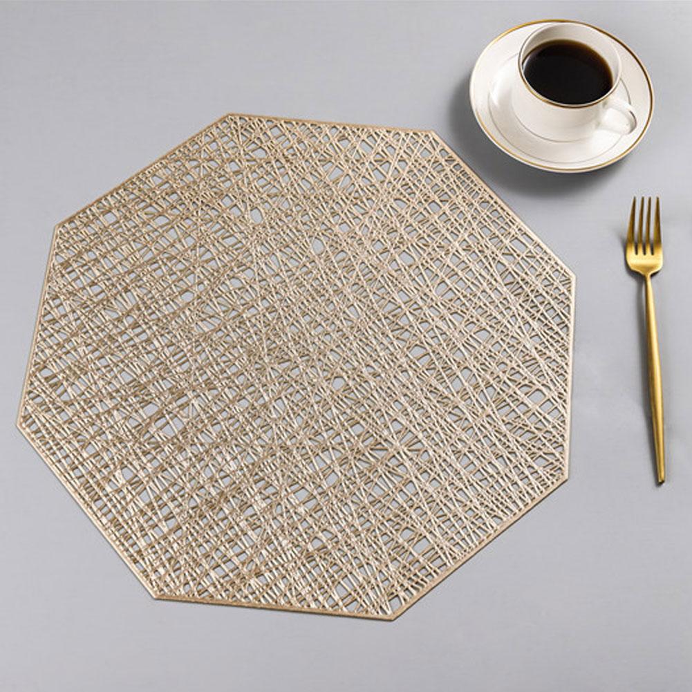 1 коврики для ПК домашний коврик-подставка для еды чашки подставки для кофе коврики нескользящее украшение кухонного стола аксессуары - Цвет: B2