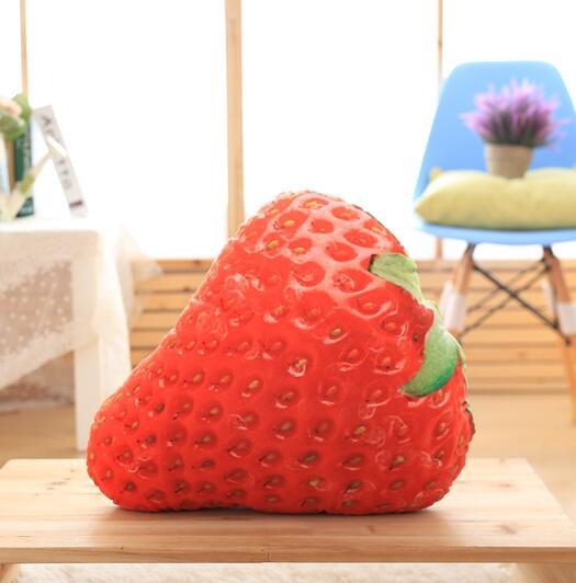 3d Simulation Obst Plüsch Kissen Erdbeere Mango Durian Apple Kissen