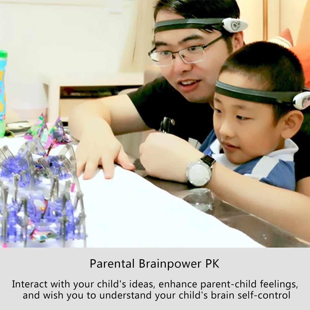 Jouets éducatifs pour enfants cerveau Radio vague idée contrôle bricolage Spider Intelligence Robot jouets cerveau vague Detector1 + jouet araignée - 5