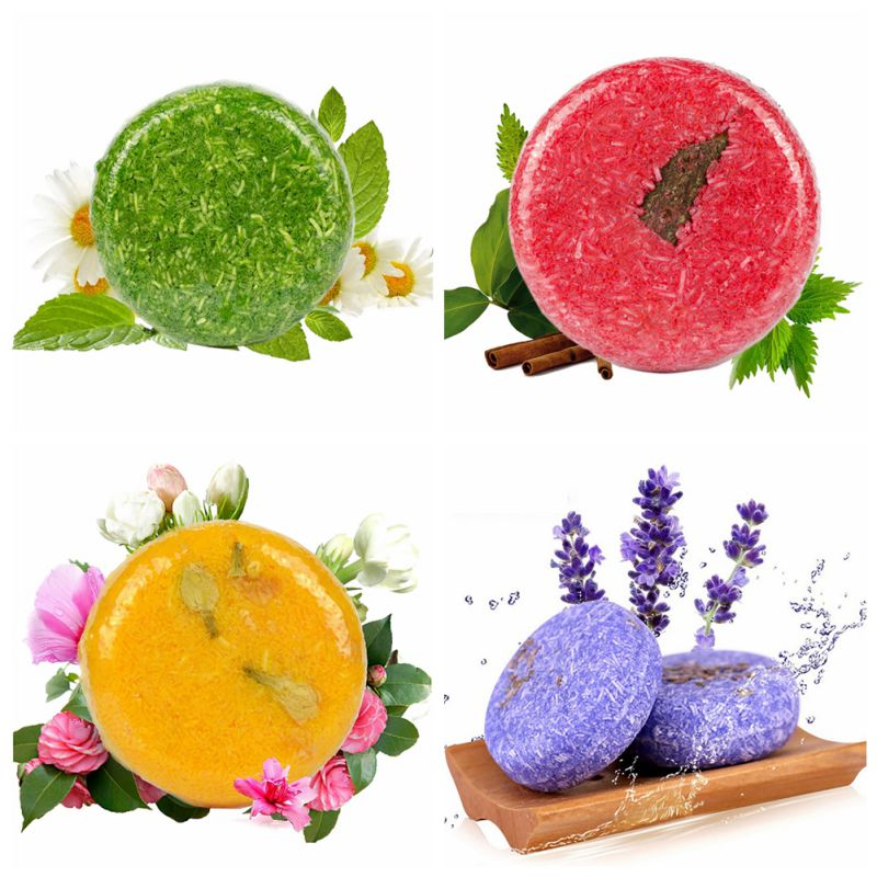 Natural Anti-Dandruff Moisturizing Hair Soap Naked Makeup Fragrance Smooth Hair Shampoo Soap maquiagem Diagnostic-tool Beauty