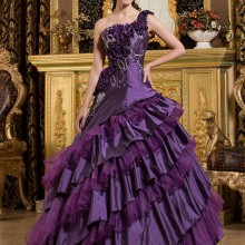 cecelle Purple Ball Gown Quinceanera Dresses 2019 One
