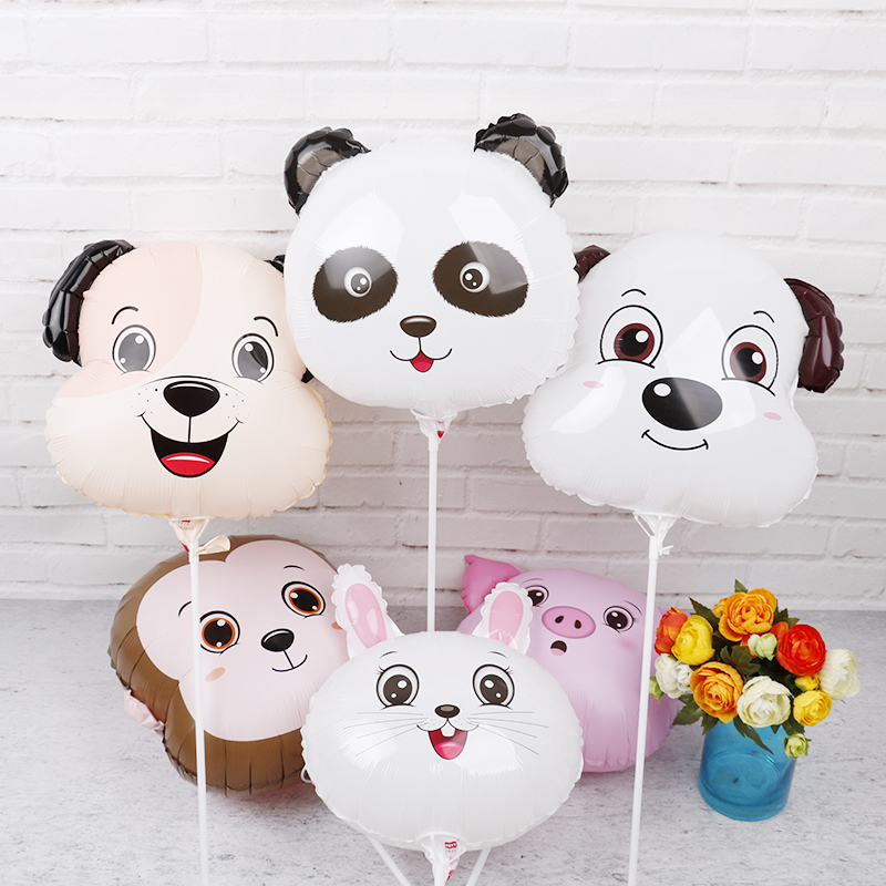 18inch Farm animals party decorations balloons 30pcs animales granja cumpleanos ballon for birthday party decorations kids toys