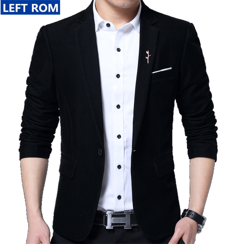 Popular Mens Black Suit Jacket-Buy Cheap Mens Black Suit Jacket ...