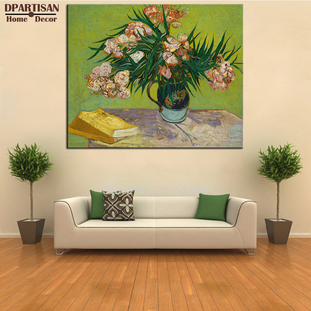 DPARTISAN Vincent Van Gogh Vase flowers Giclee wall Art Abstract ...