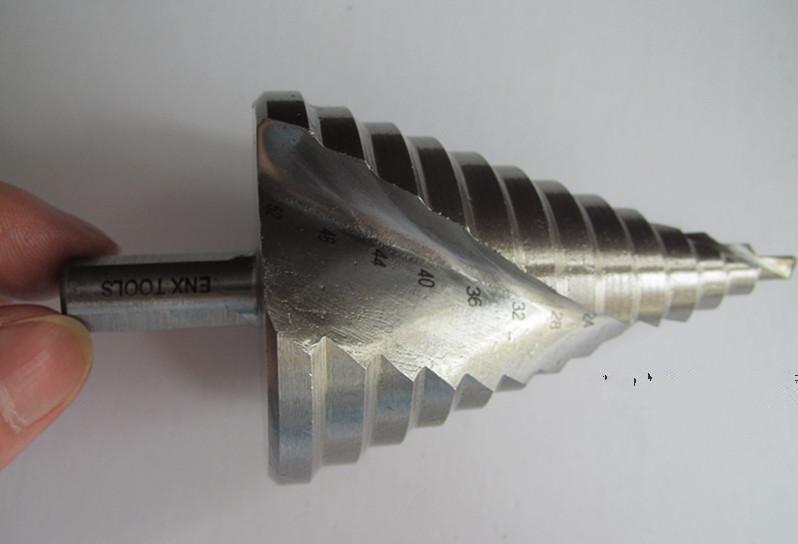 6-60 mm-es spirálhoronyú lépésfúró-fúrógép-domborító, - Fúrófej - Fénykép 2