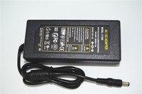 Yüksek kalite 12 V 5A 60 W AC/DC Güç Adaptörü Kaynağı şarj Ile 3528 5050 RGB LED Şerit Işık için İNGILTERE/ABD/AU/AB FIŞ kablo