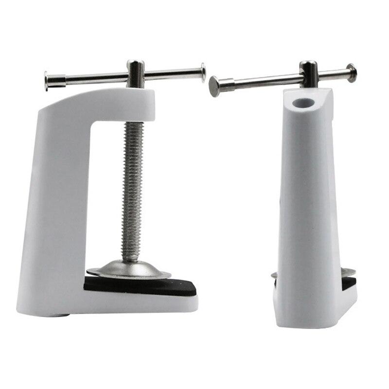 LED Gooseneck Light Clips Word Fixed Holder Machine Lights Holding Base For Desk Lamp Table Lamps DIY Maker