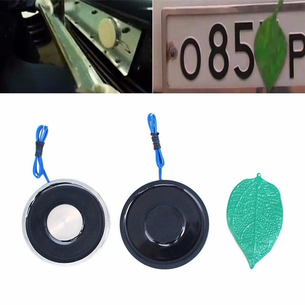 (Gift Iron Leaves)70/9 Electro Magnet 12V/24V Disappear Car License Plate Number Holding Electric Solenoid Sucker Electromagnet