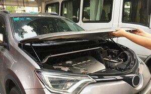 Image 3 - Per Toyota RAV4 2014 2018 BRAND NEW Car Motore Cofano Cappuccio Ammortizzatore Tipo Mcpherson Ammortizzatore Sollevatore Ascensore Supporto Asta Idraulica fiducia Asta 2 pz