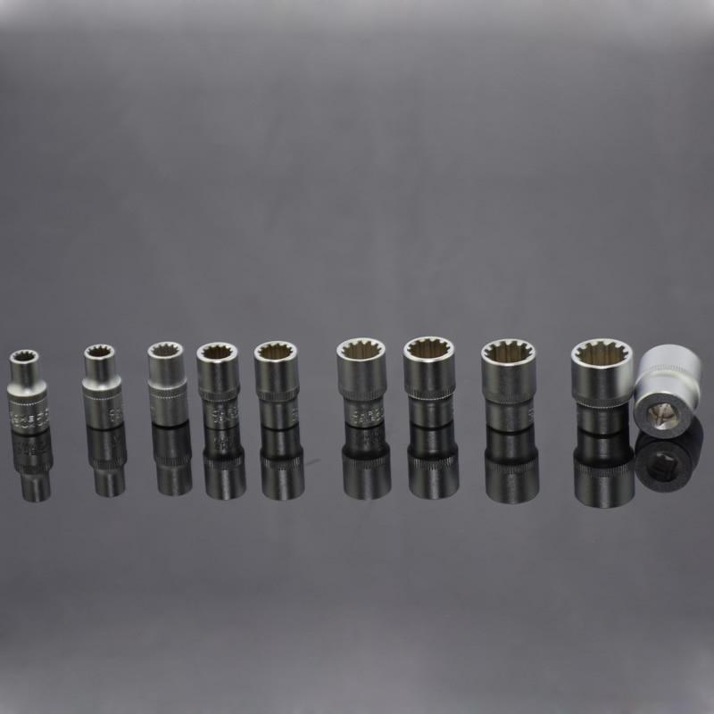 Kiváló minőségű 38PCS mini racsniskulcs-készlet 1/4-es aljzat - Szerszámkészletek - Fénykép 3