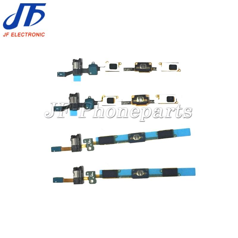 50pcs lot Home Button Flex Earphone Jack Flex Cable Ribbon for Samsung Galaxy J5 J510 J7