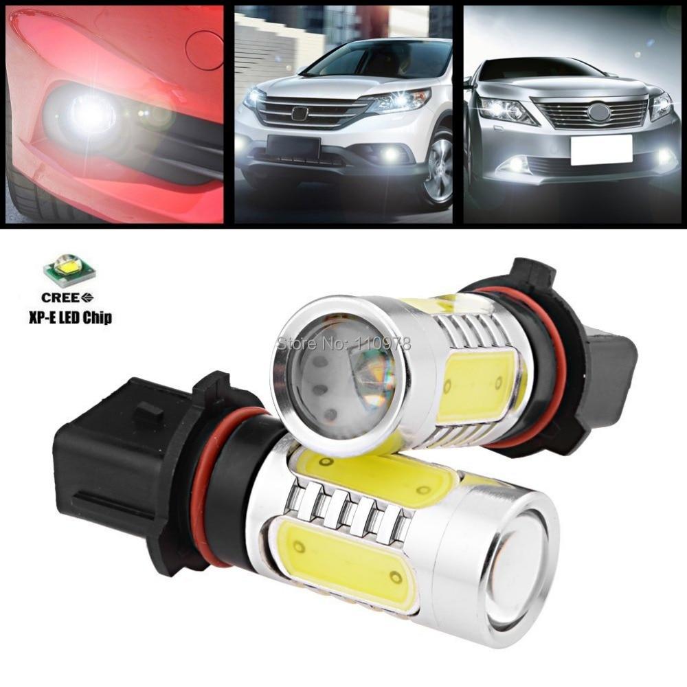 Devoted 2pcs 11w White P13w Psx26w Cree Xp-e Q5 Chip+4cob Car Automobileled Driving Fog Light Bulb For 2011-2013 Toyota Highlander Jade White Automobiles & Motorcycles