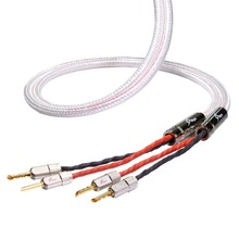 MPS M-8SP HiFi 99.9997% OFC+ Silver  24K Gold Plated  banana speaker connector plug Bi wire speaker audio cable amplifier 1 pair