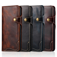 New Natural Real Genuine Solt Leather Wallet Case For Apple IPhone X 8 Plus Phone Sleeve