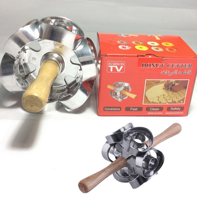 Fast Revolving Donut Cutter Maker Mould Molding Machines