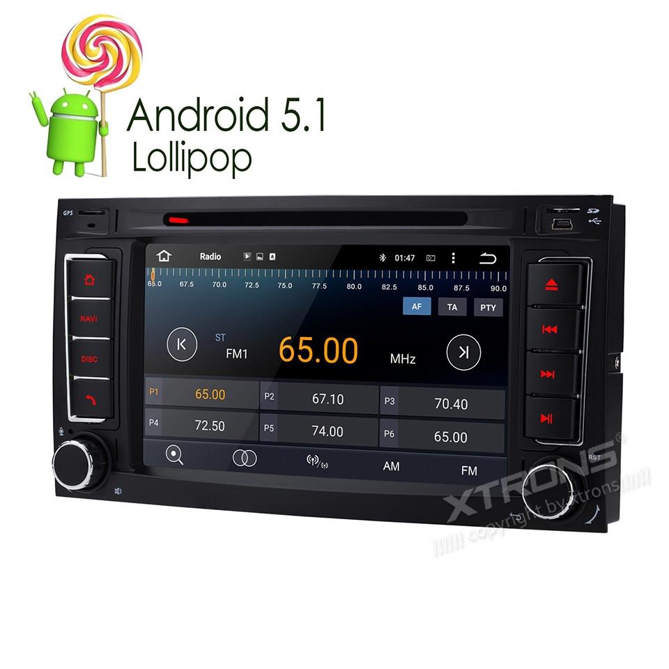 newest 7 android 5 1 car radio stereo dvd gps navi for volkswagen vw touareg t5 multivan. Black Bedroom Furniture Sets. Home Design Ideas