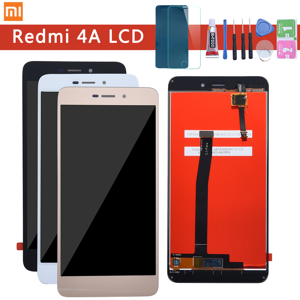 Xiaomi Redmi 4A LCD Screen Display Toque Digitador Assembléia Para Xiaomi Redmi 4A 4A Pro Substituição Display LCD Com Moldura