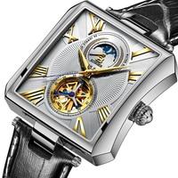 NEW Automatic Mechanical Watch Men Sapphire Binger Luxury Brand Waterproof Watches Male Tourbillon Wrist watch Clock B 5071M 1