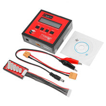 PG C610 120 W 10A Lipo Balans Acculader Ondersteuning 4.35-4.40 V LiHV Met 1602 Lcd-scherm & Oplaadkabel(China)