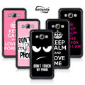 Hard Back Shell Cover Case For Samsung Galaxy E5 E500 E500F Cell Phone Cases For Samsung E7 E700 Keep Calm And Love Me