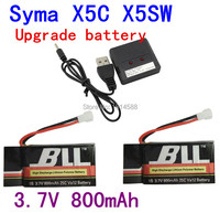Syma X5C X5SC X5SW X5C 1 V931 H5C CX 30 CX 30W Quadrocopter 3 7V 800mAh