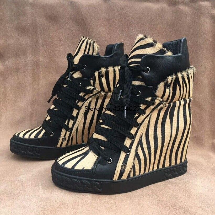 À Croissante Bottes Wedge Automne Lacets Hauteur Casual forme Femmes Chaussures Mode Cheville Plate fvw8P7q
