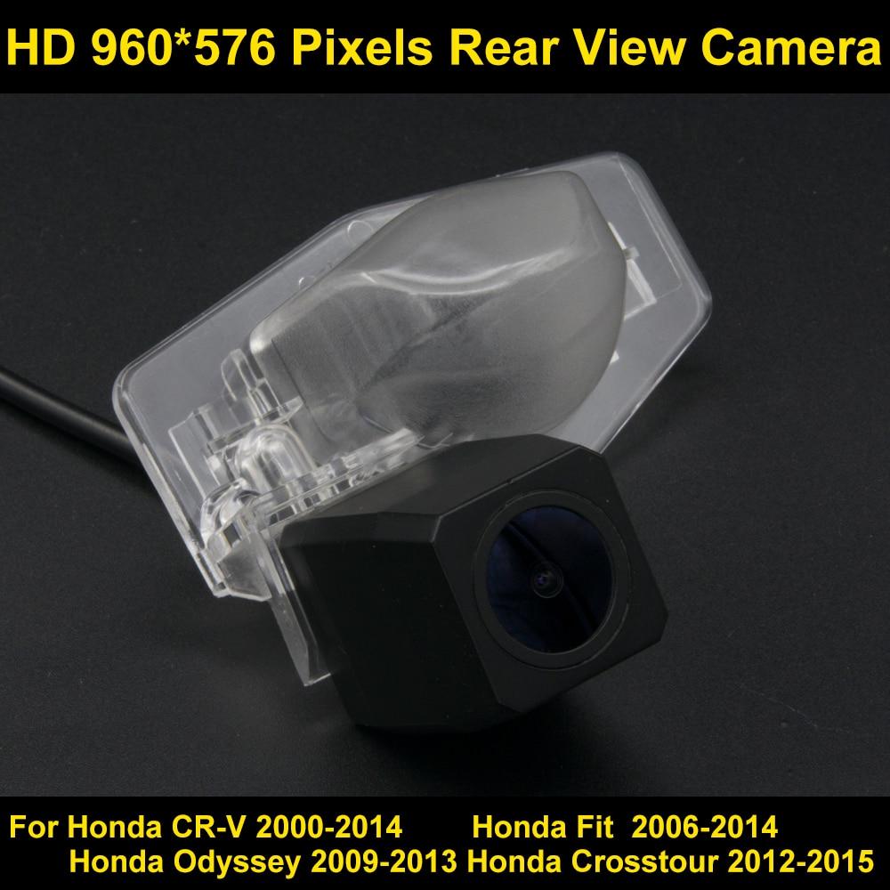 PAL HD 960*576 Pixels Car Parking Rear view Camera for Honda CR-V 2000-2014 Fit 2006 2007 2008 2009 2010 2011 2012 2013 2014 Car