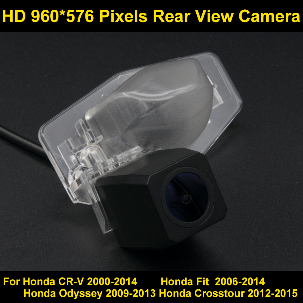 PAL HD 960*576 Pixels Car Parking Rear view Camera for Honda CR-V 2000-2014 Fit 2006 2007 2008 2009 2010 2011 2012 2013 2014 Car pal hd 960 576 pixels car parking rear view camera for ford mondeo focus hatchback fiesta s max 2007 2008 2010 2011