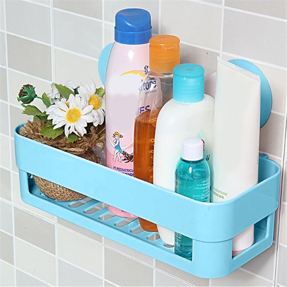 THGS 8pcs Kitchen Bathroom Shelf Plastic Shower Caddy Organizer ...
