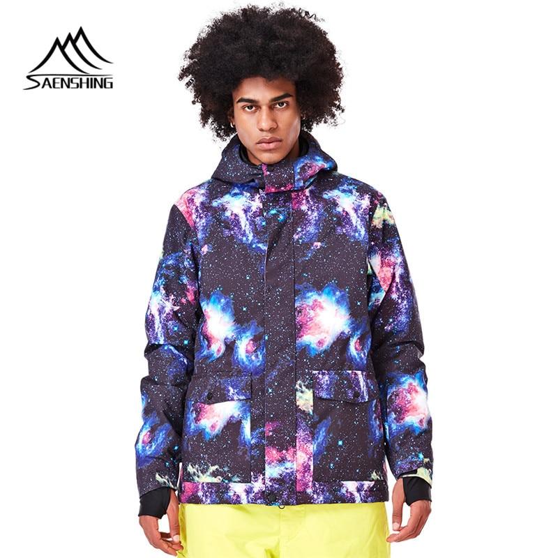 Men Skiing Jacket Waterproof Breathable Waterproof Snowing Jacket Skiing And Snowboarding Warm Jacket Male Windproof Shipping детское