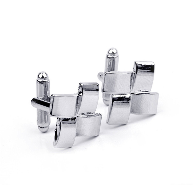 Wholesale 10pairslot French Mens Cufflinks Windmill Diagram Buttons