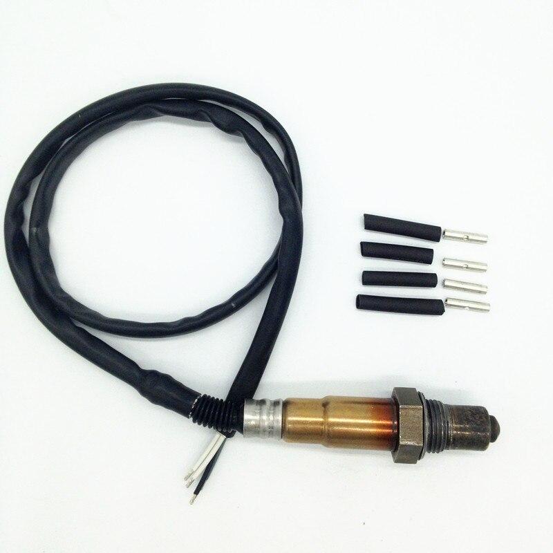 Wrie-100meter אוניברסלי Lambda הבדיקה חמצן O2 חיישן לסיטרואן פיאט יונדאי פולקסווגן רנו OE #0258986507