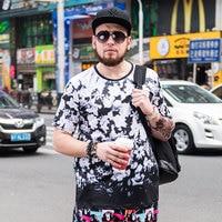 Spring And Summer New Men S Loose Men T Shirt Korean Large Size Men Plus Fertilizer