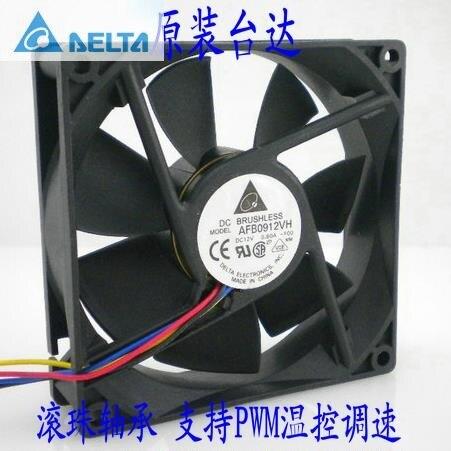Delta  92*92*25MM cpu heatsink fan 9cm pwm ball bearing обогреватель delta d 25 9