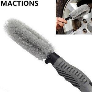 Грузовик, автомобиль, мотоцикл, обод колеса, ступица, полезная щетка для мытья, инструмент для очистки